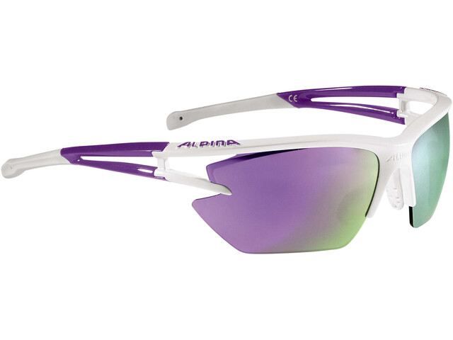 Alpina Eye-5 HR S CM+ - Lunettes cyclisme - violet/blanc